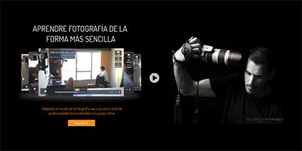 web cursos de fotografia
